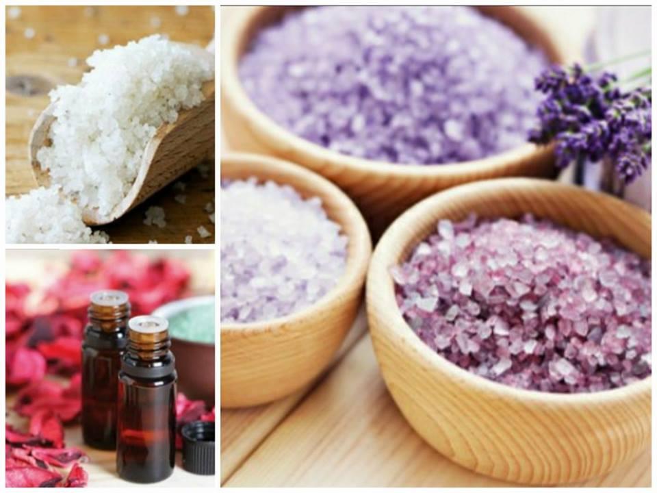 Φρουφρού και Αρώματα (ΙΙ) – άλατα μπάνιου
