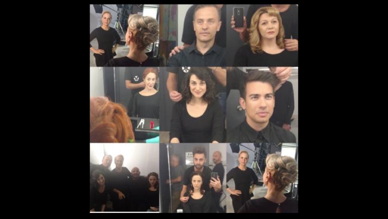 Τα Teta Beauty Salon στην παράσταση «Άννα Φρανκ»