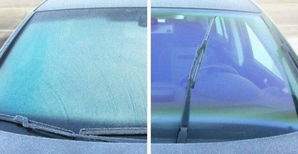 Έτσι θα καθαρίσετε με ασφάλεια τον πάγο από το παρμπρίζ του αυτοκινήτου