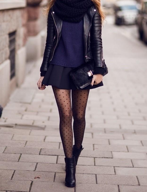 Έτσι θα φορέσεις τη μίνι φούστα και το χειμώνα χωρίς να κρυώνεις