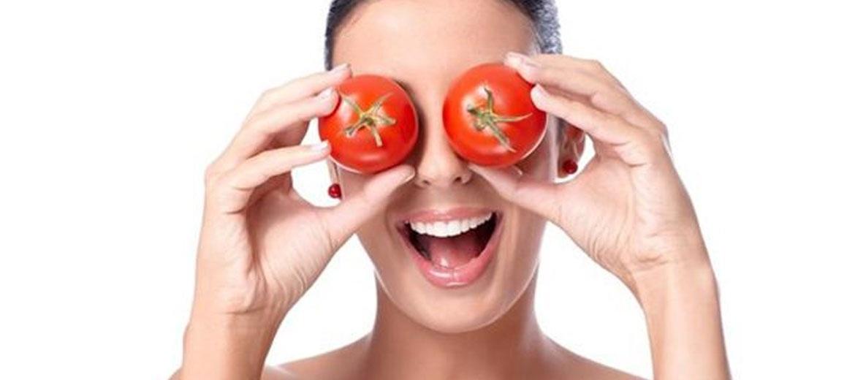 Αντιγηραντική μάσκα προσώπου με ντομάτα