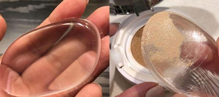 Το σφουγγαράκι σιλικόνης που θυμίζει επίθεμα στήθους είναι το must have στο μακιγιάζ