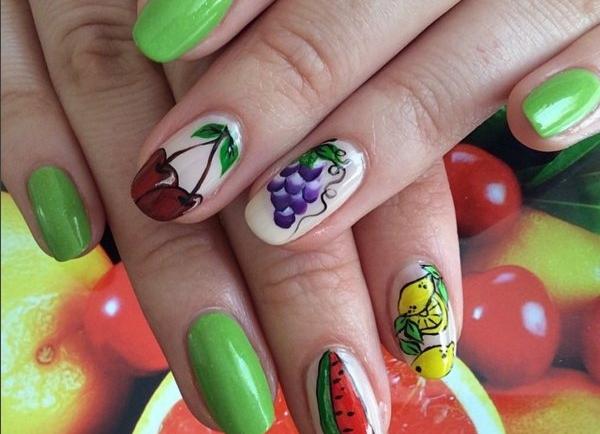 Δροσερά σχέδια με φρούτα στα νύχια σου (Part1)
