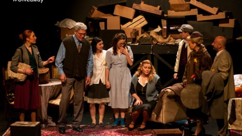 Κερδίστε διπλές προσκλήσεις για την παράσταση Άννα Φρανκ – Το Ημερολόγιο στο Θέατρο Χυτήριο