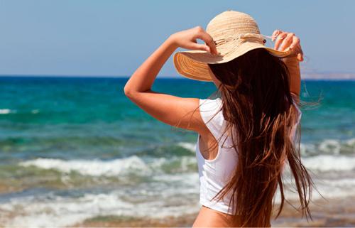 Προστασία μαλλιών από τον ήλιο!