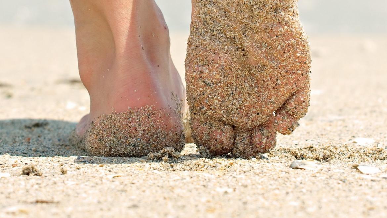 Φυσική απολέπιση με άμμο
