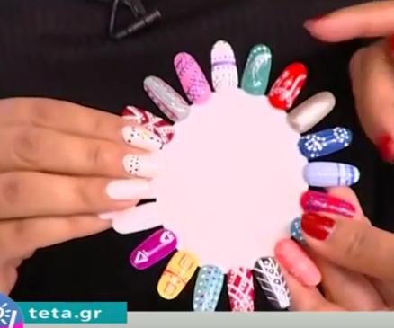 Boho nails: Το απόλυτο καλοκαιρινό στυλ  (ΒΙΝΤΕΟ)
