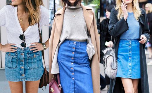 Έτσι θα φορέσεις την τζιν φούστα
