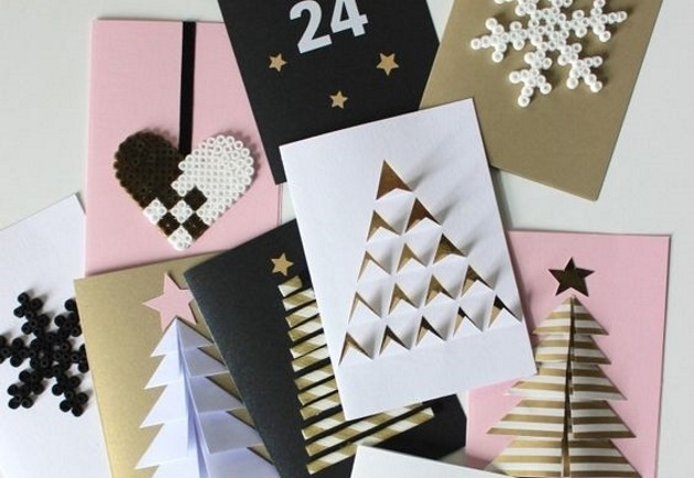 Ιδέες για να στολίσεις το σπίτι σου με τις ευχετήριες κάρτες που έχεις μαζέψει