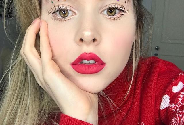 Christmas tree eyebrows: Tο trend που βλέπουμε παντού στο instagram!