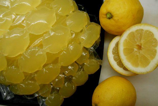 Χυμός λεμονιού σε παγάκια!