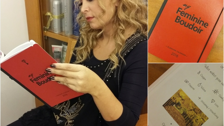Feminine Boudoir : ένα ημερολόγιο μόνο για ΓΥΝΑΙΚΕΣ