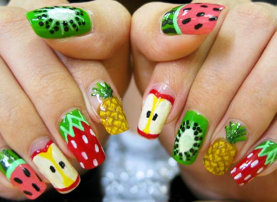Δροσερά σχέδια με φρούτα στα νύχια σου (Part2)
