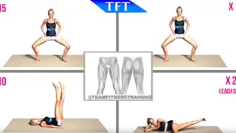 Οι super ασκήσεις για το εσωτερικό των μηρών (ΒΙΝΤΕΟ)