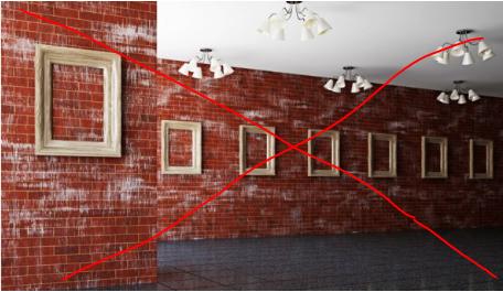 Διακόσμηση: Έτσι πρέπει να τοποθετείτε τα κάδρα σας