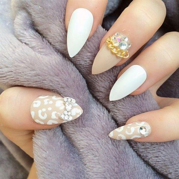 Νύχια με πέτρες και στρας Part 2
