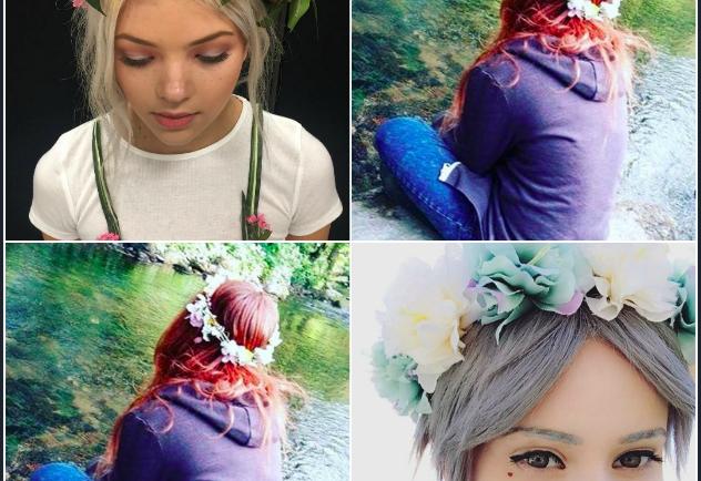 Μάιος με λουλούδια στα μαλλιά