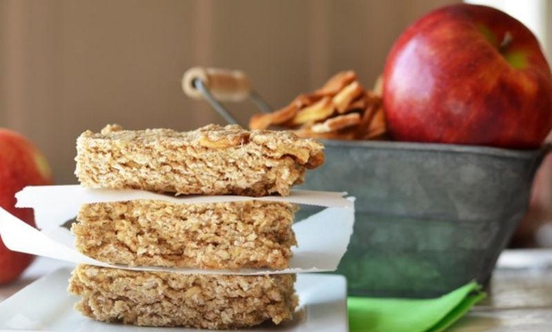 Σπιτικές μπάρες μήλου, το τέλειο σνακ!