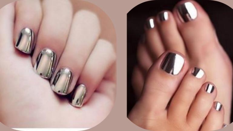 Mirror nails: Για glamorous εμφανίσεις τα Χριστούγεννα