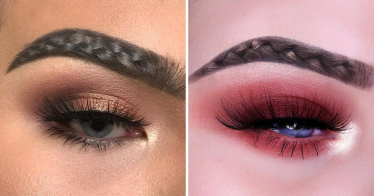 Instagram trend! Γνωρίστε τα braided brows