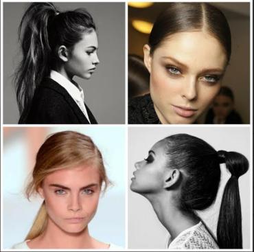 Ζηλεύεις τα μαλλιά των διασήμων; Όχι πια… Eύκολη, απλή και γρήγορη αλογοουρά ή ponytail