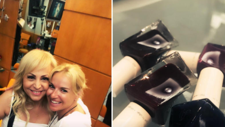 Τι χρώμα να βάψουμε τα νύχια μας; Η Τέτα Καμπουρέλη μας δίνει τις καλύτερες λύσεις (ΕΙΚΟΝΕΣ)