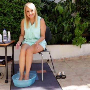 Πρόληψη και αντιμετώπιση της κακοσμίας των ποδιών